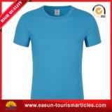 Camiseta del hotel con la insignia del color del cliente azul de $