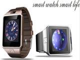 Wholasaleの安い工場Dz09 1.54インチの多機能の人間の特徴をもつスマートな腕時計の電話