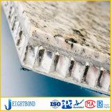 Panneau en aluminium en pierre artificiel de nid d'abeilles pour des matériaux de construction