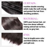 Cabelos sintéticos de cabelo virgem da Malásia para Straiding (QB-MVRH-ST)