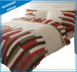 現代縞デザイン綿は羽毛布団カバー寝具を印刷した