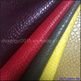 女性靴のオールドスタイルのためのPUの革を浮彫りにしなさい
