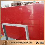 最もよい等級の品質の赤い輝きの水晶床タイル