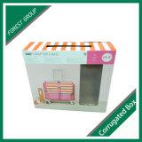 Indicador desobstruído caixa de empacotamento corrugada