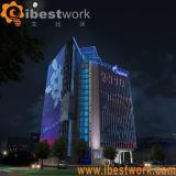 DMX LED 선형 디지털 관 건물 경음악 점화