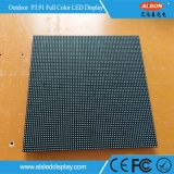 Indicador de diodo emissor de luz curvado da definição P3.91mm arrendamento ao ar livre elevado