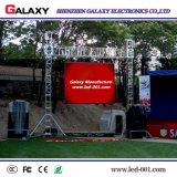 Alquiler de exterior en Color de Pared de vídeo LED fijo para la etapa con armario de fundición de aluminio