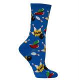 Jacquardwebstuhl-Webart färbte gekopierte flippige Socken
