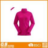 Куртка втулки Microfleece женщин длинняя