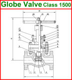 150lb API Globle Klep (GAJ41W/GAJ41Y)