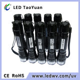 365nm usos de la antorcha ULTRAVIOLETA del LED 3W