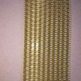 Saco de arame decorativo Ss usado como cortinas para sala de jantar