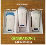 Eingebauter Batterie WiFi Ultraschall-linearer Scanner für Karotisarterie