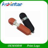 Metall-USB-Stock-Speicher-Blitz-Leder USB-Blitz-Laufwerk
