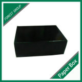 Zoll gedruckte schwarze Verschiffen-Papierkartone