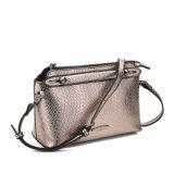 Shining Snake Grain Lady Crossbody Bag (MBNO040100)