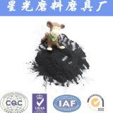 Le carbone activé dans l'eau de purification de noix de coco