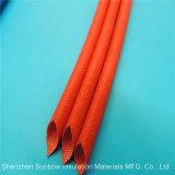 silikonumhüllter umsponnener elektrischer Draht-thermischer Schutz Sleevings der Glasfaser-1.2kv