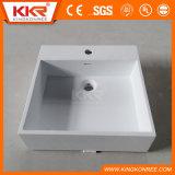 Kingkonreeの石造りの樹脂の洗面器のアクリルの固体表面の洗面器