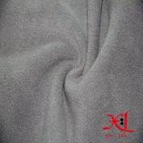 Anti-Pilled tela do velo macio do poliéster para a matéria têxtil/vestuário