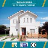 Estructura de acero de la luz de la Villa con el Panel de hormigón ligero