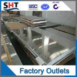 Hoja de acero inoxidable de la placa de acero de ASTM de la alta calidad