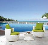 Ensemble de table ronde et de chaises pour jardin extérieur