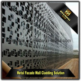 De buiten Decoratieve Bekleding van de Gordijngevel van de Besnoeiing van de Laser Aluminium Geperforeerde