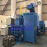 Máquina automática horizontal do carvão amassado das limalhas de aço (CE)