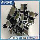 Salto térmico de perfiles de aluminio acabado superficial de Revestimiento en polvo
