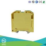 Заземлительный зажим преграждает тип пластичные разъемы Weidmuller электрического провода
