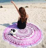 Accettare il tovagliolo di spiaggia rotondo di sublimazione dell'OEM di stampa completa all'ingrosso di Digitahi