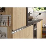 小さい台所家具ストレート・ライン現代様式の木製の食器棚