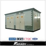 sous-station compacte du transformateur 15kv/22kv/33kv