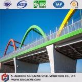 Marco de acero pesado de la calidad para el puente del transporte con los materiales de construcción