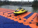 Лодка синий пластиковый U Cube на лыжах используется