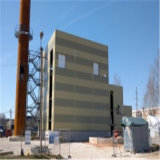 Edificio pesado industrial de la fábrica de la estructura de acero de la alta calidad de la subida