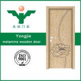 Portello interno di legno del MDF della costruzione stratificata