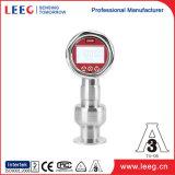 Sanitaria de diafragma Flush transductor de presión de vacío