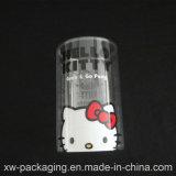 Caixa de cilindro de plástico de boa qualidade para pacote de presente