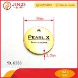 Les étiquettes d'étiquette en métal de qualité personnalisent le Diriger-Prix d'usine d'étiquette de logo