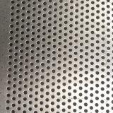 Furo redondo engranzamento perfurado galvanizado do metal