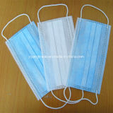 Nonwoven 3Capas desechables mascarilla quirúrgica para con Earloop Dental