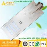 Fábrica de luz LED inteligente de energía solar de luces LED de alimentación de la calle con un panel solar