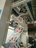 Machine d'impression de Flexographc de couleurs de la vitesse 8 (YTB-8100)