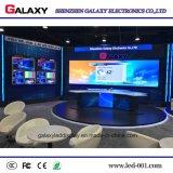 Etapa fija de interior de alta resolución de la visualización de LED P1.5625/P1.667/P1.923 TV, sistema de vigilancia del camino