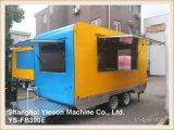 Ys-Fb390e crepe de sorvete de furgões Foodtruck carrinho de reboque