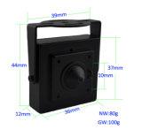 720p câmara de segurança do IP do Wdm CMOS Onvif mini ATM