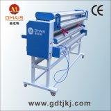 Máquina automática industrial do laminador do rolo da película fria de Linerless com cortador