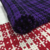 Braided ткань готовое Greige шерстей проверки